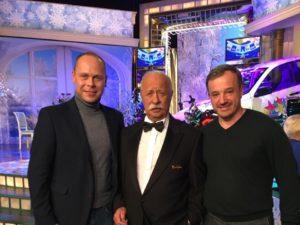 Баня от Bochky на 1 канале в «Капитал шоу Поле Чудес