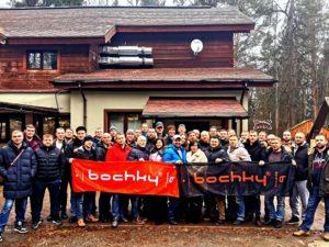 Съезд региональных дилеров компании Bochky